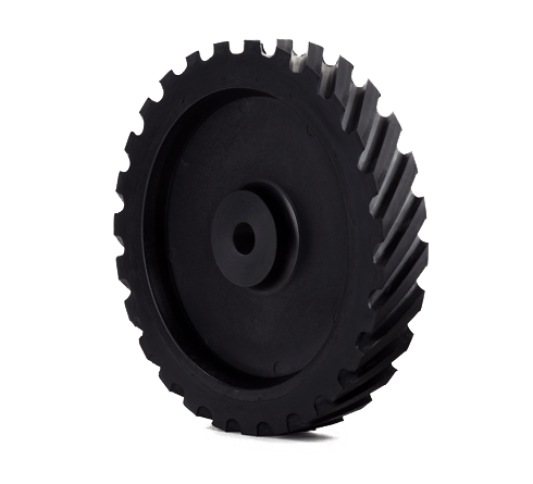 Rubber Polishing Wheel with Plastic center